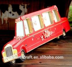 Retro creative resin car jamaica photo frame for sale