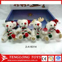 snowman christmas doll new 2014 promotion product plush pet
