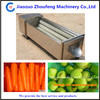 stainless steel automatic high capacity brush potato washer and peeler machine (0086-13782605975)