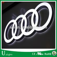 3D sign acrylic alphabet letter