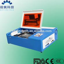 mini craft laser cutting machine RF-3020-CO2-40W rayfine brand