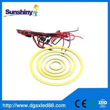 2014 Hot sale 80mm led ring light/hiway cob light/led angel eye 12v /24v 2 years warranty