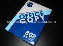 promotion!!! high smoothness&brightness 80g copy paper