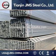 Hot dipped Galvanized welded iron square rectangular tube price