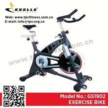 New design best price good quality spin bike small folding treadmill