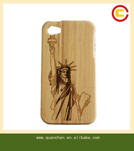 wholesale cell phone case bamboo case for iphone4s