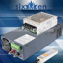 Sixmen 60w 5a constant voltage single output led switch power supply rainproof led strip light driver 12v power amp smps