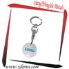 promotional gifts trolley token keyrings uk
