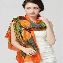 Wholesale Personalized Infinity Lady Amazing Silk Scarf