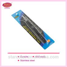 plastic tweezers eyebrow shaping tool tweezer light