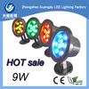 12V/24V stainless steel 9W led underwater lighting IP68