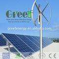 Nouveau! Vertical wind turbine 2kw générateur d'énergie éolienne verticale