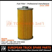 Caminhão filtro de ar da fábrica na China para Scania OEM 1354074