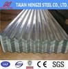 corrugated galvanized roofing/galvanized zinc sheet
