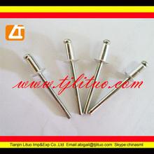 open type flat head aluminium large flange blind rivets multi grip