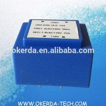 double 15V transformer transformador