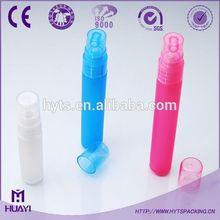hot sale round mini 10ml 20ml 30ml pen shape hand sanitizer