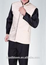 Basic style bellboy uniform for hotel