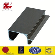 Good quality 6063 T5 alloy extruded aluminum drawer pull for Europe