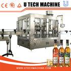 3-in-1 washing,filling and sealing glass bottle wine making machine