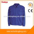 la pologne normalsolidité blue style veste de travail uniforme