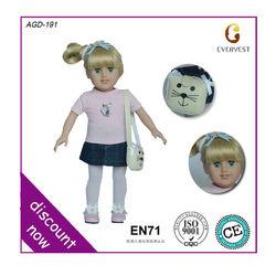 New arrival 18 inch american girl doll/pretty girl dolls/little girl doll models