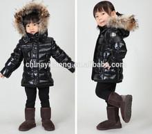 High quality hot sale girls winter coat