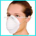 Poliéster descartáveis não- tecido de poeira máscara( perfurado agulha tecido)