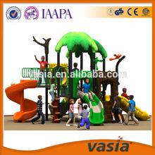 Children outdoor playground plastic material equipment garden house outdoor