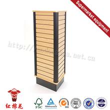 Top quality single side backboard supermarket shelf for sale in china