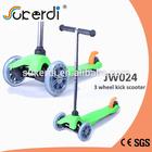 Cheap 120/80mm*23mm PU wheel kids kick 3 wheel fairings for scooter