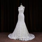 Beautiful modern suzhou claudia stone work royal night dress sexy bridal dress