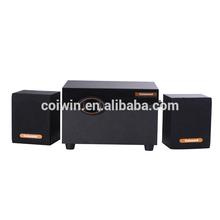 china cheap mini portable 2.1 speaker support usb/sd card/ fm
