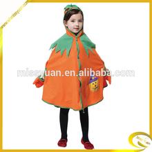 2014 hot sale kids halloween Pumpkin wizard costumes