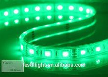 20 leds/m 600 leds SMD 3528 strip light warm white glue waterproof IP 65 DC 12V 9.6w outdoor decoration light wholesale