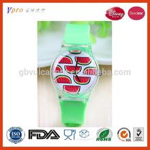Disney Audit Factory Smart Watch Wrist Watch Watermelon Fruit
