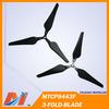 Maytech DJI Phantom 2 Vision Self-Tightening Propeller Set 9443 folding Propeller 3-blade