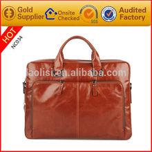 2014 latest design wholesale hot sale fashion man bag leather handbag of pu material