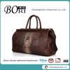 PU leather travel bag for men travel bag crocodile