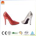 Top qualité sex lady chaussures de mariage match robe de mariage à talons hauts pompes