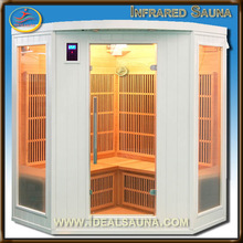 Luxury Series new indoor far infrared White Painting Sauna