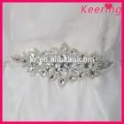 Wholesale Rhinestones Bridal Belts Bridal Sashes Crystal Beaded Bridal Wedding Belt