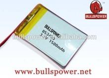 Turnigy lithium ion polymer battery 9.6v 3.7v 1500mah