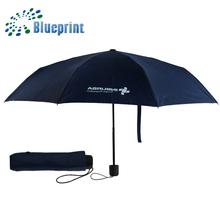 hot sell cheap anti uv 3 folding rain umbrella