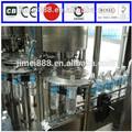 a água mineral de plantas de processamento