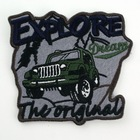 2014 Hot sale Car logo Customized Embroidery Patch