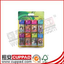 Manufacturer,,paper promotion car air freshener for wholesale.