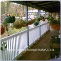 vinilo valla de plástico y balcones