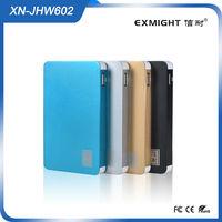 Portable Power Bank 6000mAh for iPhone / Samsung / Blackberry / HTC / Nokia Universal Backup External Battery USB Power Bank