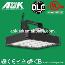 60 90 120 degree 160W UL DLC 5 years warranty led canopy lights parking garage